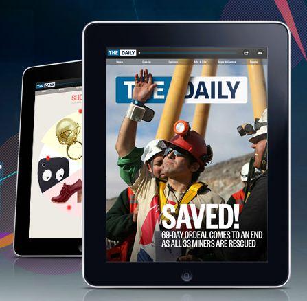 The Daily, medio online exclusivamente en iPad