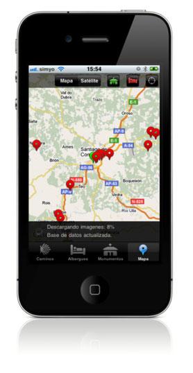 app-iphone-guia-camino-santiago