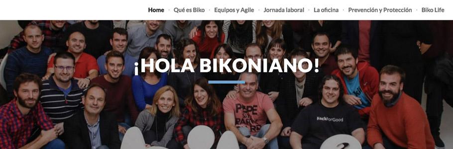 Site bienvenida Biko